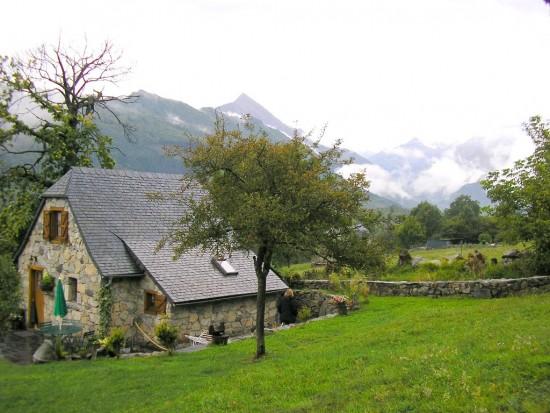 Een schattige gîte rural midden in de Pyreneeën.