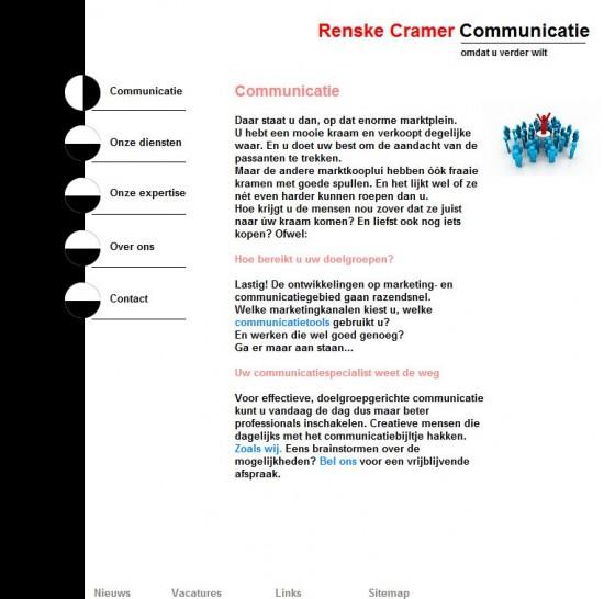 Renske Cramers oude site communicatieCOM