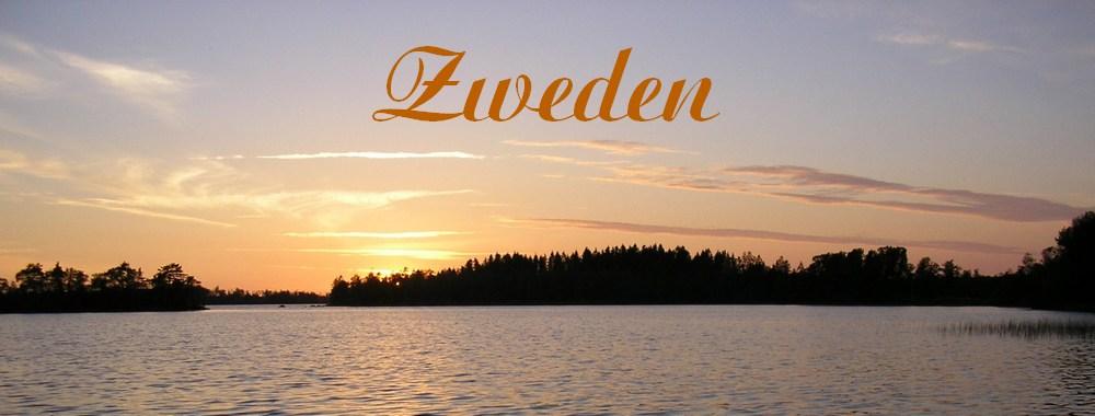 Renske Cramer Creatief foto van Zweeds meer bij zonsondergang voor de reisreportage zweden