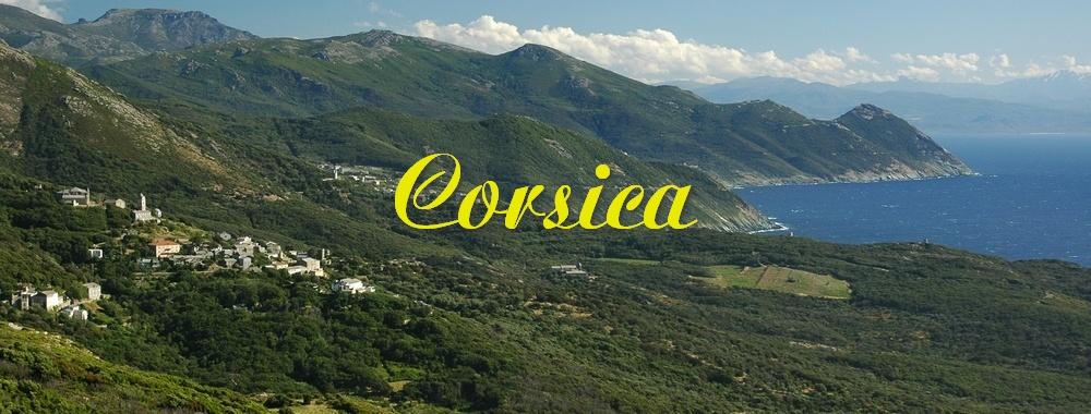 Renske Cramer Creatief reizen foto van het landschap van Corsica