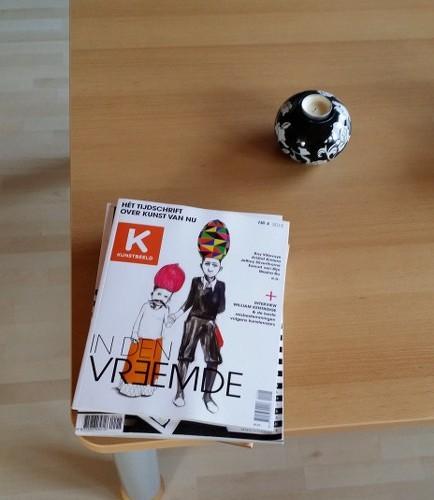 Op mijn salontafel stapelen de ongelezen boeken en tijdschriften zich op. Geen tijd...