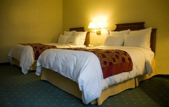 Deze hotelkamer ziet er veelbelovend uit. Maar schijn kan soms bedriegen.