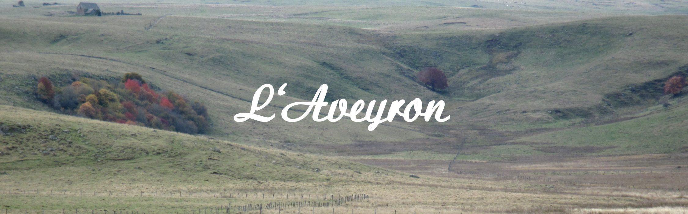 Een foto van de pagina over de Aveyron (Frankrijk) op de site Renske Cramer Creatief