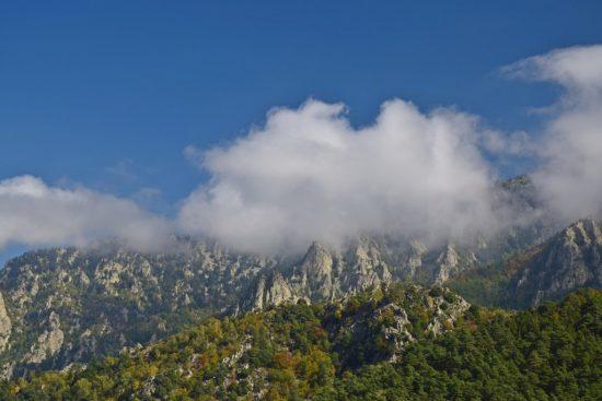 Foto van de Pic du Canigou in de Pyrénées-Orientales, Frankrijk.