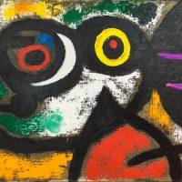 Renske Cramer Creatief artikel over Miro foto van een van zijn kunstwerken