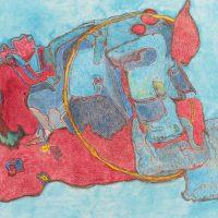 Renske Cramer Creatief kunstwerk VoorGevoel van beeldend kunstenaar Sia Braakman