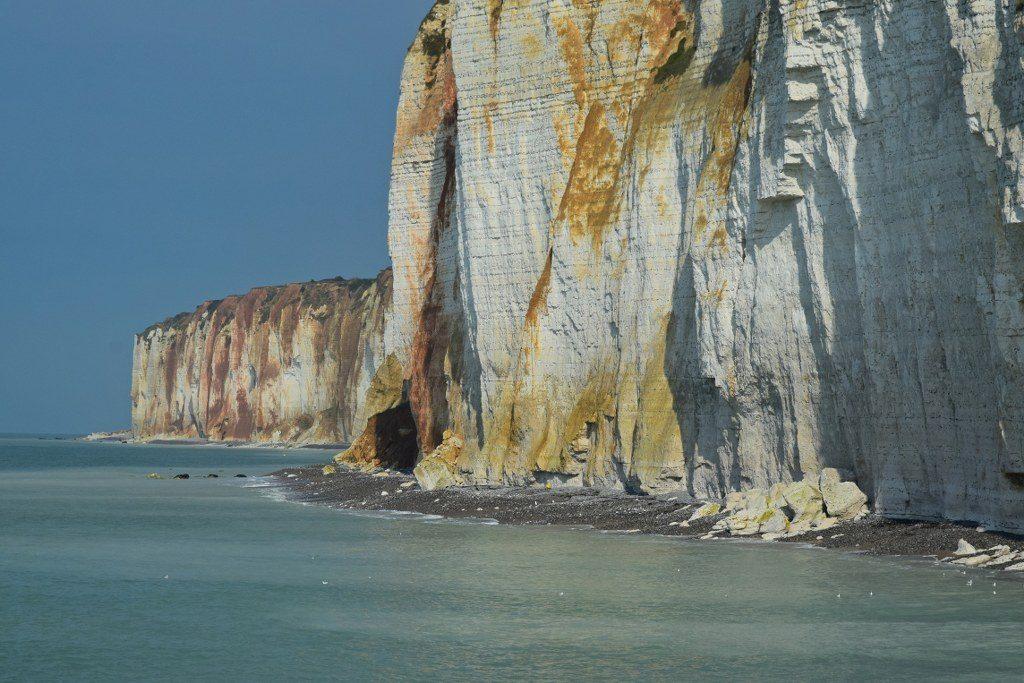 Renske Cramer Creatief foto van krijtrotsen in de Normandie (Frankrijk)