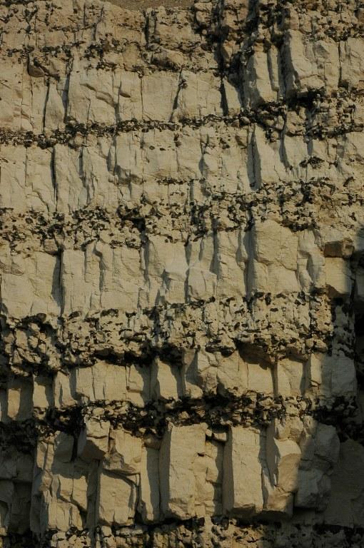 Renske Cramer Creatief foto van een rots aan de kust van de Normandie (Frankrijk)