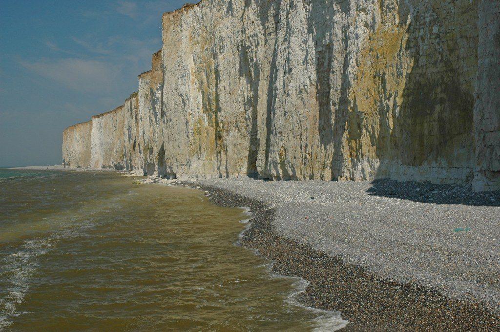 Renske Cramer Creatief foto van krijtrotsen aan de kust van de Normandie (Frankrijk)