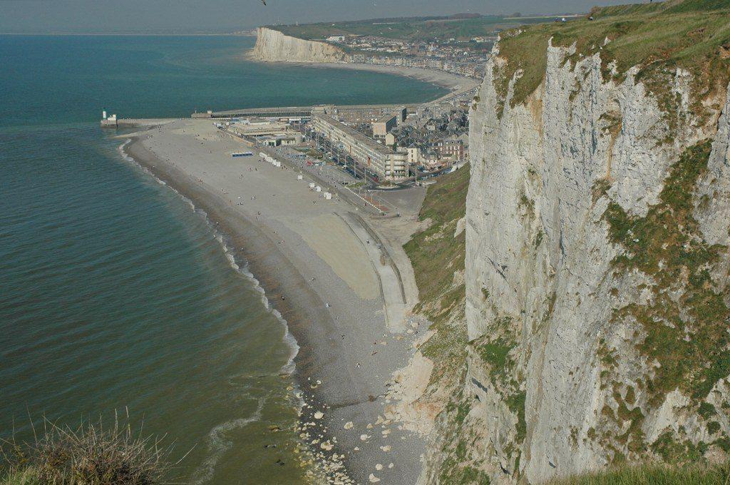 Renske Cramer Creatief foto van de kust van de Normandie (Frankrijk)