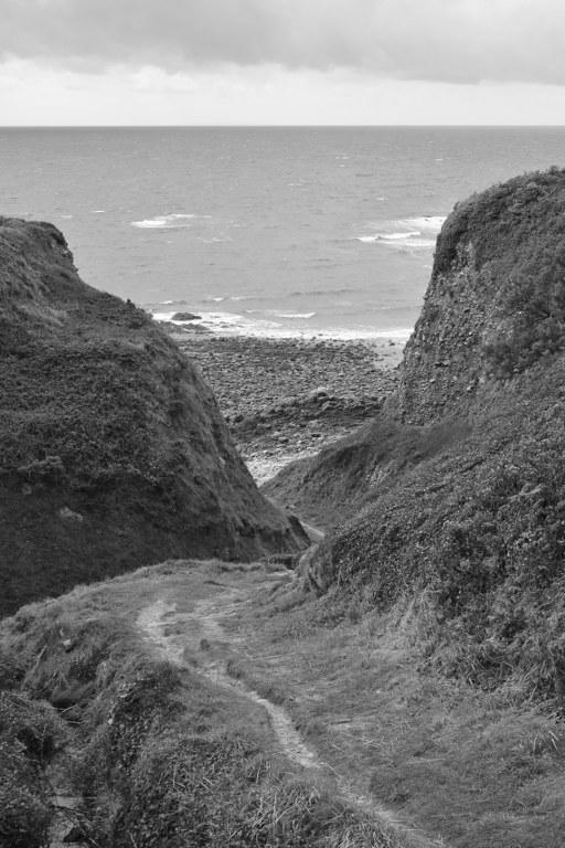 Renske Cramer Creatief foto van een strand in de Normandie (Frankrijk)