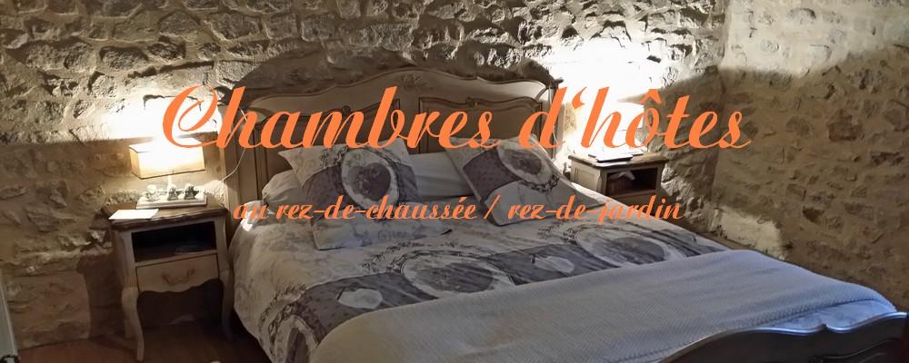 Renske Cramer Creatief headerfoto voor de lijst met chambres d'hôtes au rez-de-chaussée / rez-de-jardin. U ziet een sfeervolle Franse gastenkamer bij een particuliere verhuurder.