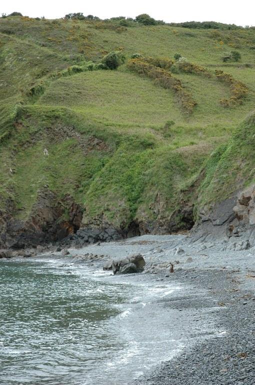 Renske Cramer Creatief foto van de woeste kust van Bretagne (Frankrijk)