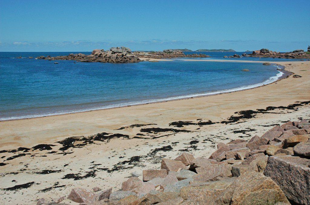 Renske Cramer Creatief foto van een zandstrand aan de kust van Bretagne (Frankrijk)