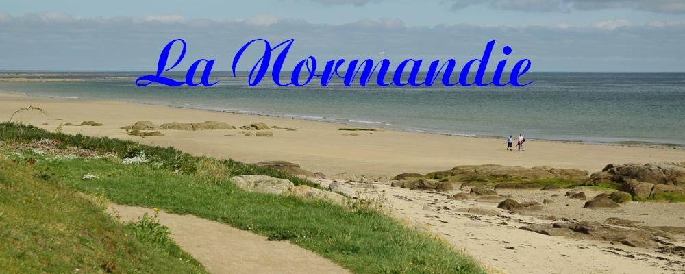 Renske Cramer Creatief reizen header foto pagina Normandie met een paadje langs het strand