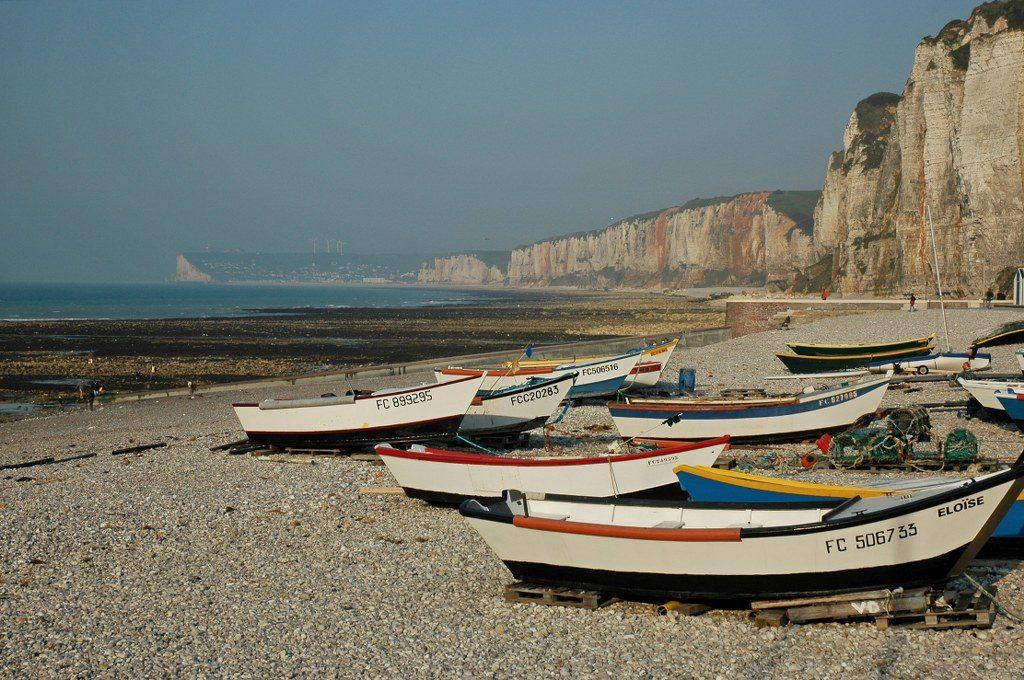 Renske Cramer Creatief foto van de falaisekust van de Haute-Normandie (Frankrijk)