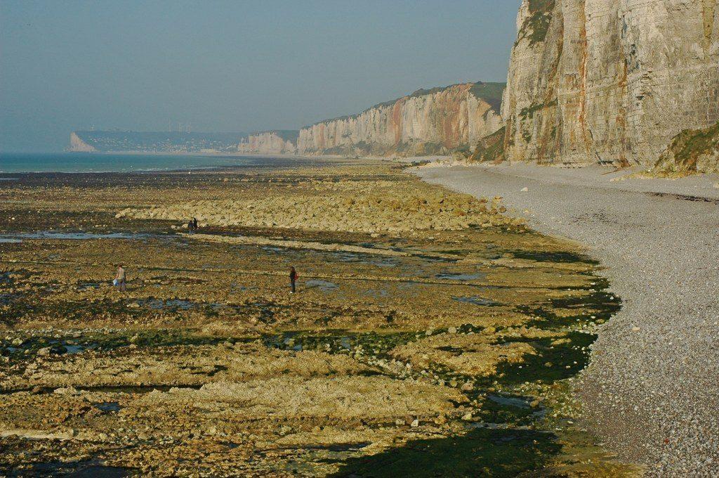 Renske Cramer Creatief foto van de kust in de Haute-Normandie (Frankrijk)