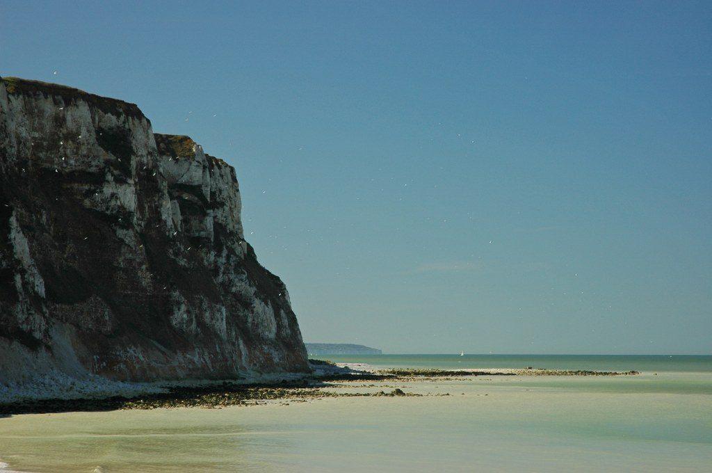Renske Cramer Creatief foto van de kust in de Normandie (Frankrijk)