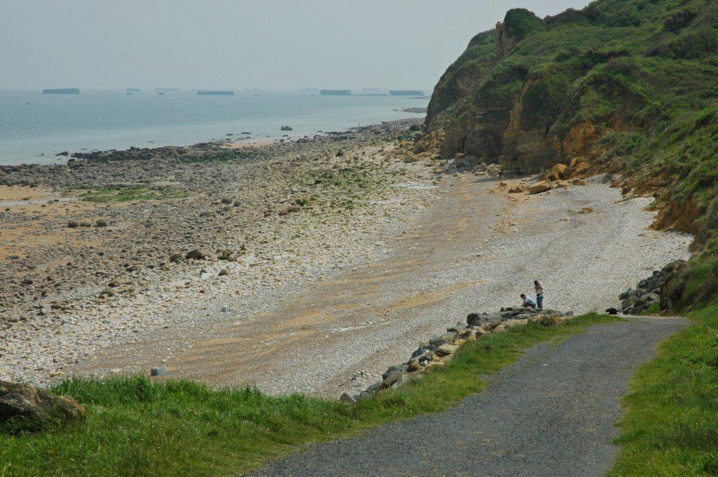 Renske Cramer Creatief foto van de kust in de Basse-Normandie (Frankrijk)