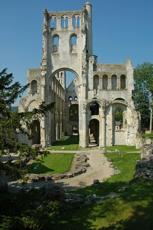 Renske Cramer Creatief foto van de Abbaye de Jumièges in de Normandie (Frankrijk)